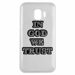 Чехол для Samsung J2 2018 In god we trust