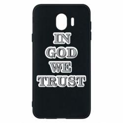 Чехол для Samsung J4 In god we trust