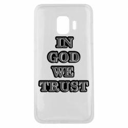 Чехол для Samsung J2 Core In god we trust