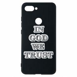 Чехол для Xiaomi Mi8 Lite In god we trust