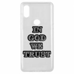 Чехол для Xiaomi Mi Mix 3 In god we trust