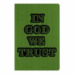 Блокнот А5 In god we trust