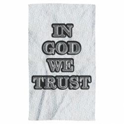 Полотенце In god we trust