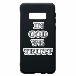 Чехол для Samsung S10e In god we trust