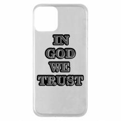 Чехол для iPhone 11 In god we trust