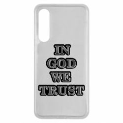 Чехол для Xiaomi Mi9 SE In god we trust