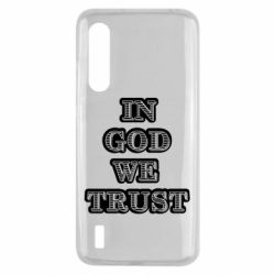 Чехол для Xiaomi Mi9 Lite In god we trust