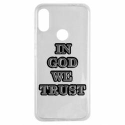 Чехол для Xiaomi Redmi Note 7 In god we trust