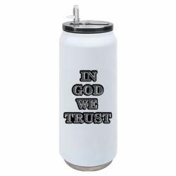 Термобанка 500ml In god we trust