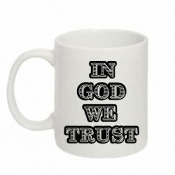Кружка 320ml In god we trust