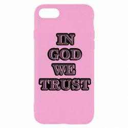 Чехол для iPhone 7 In god we trust