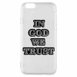 Чехол для iPhone 6/6S In god we trust