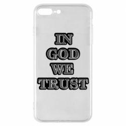 Чехол для iPhone 8 Plus In god we trust