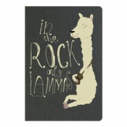 Блокнот А5 in the rock only lammas