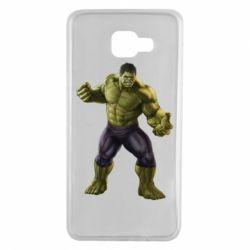 Чохол для Samsung A7 2016 Incredible Hulk 2