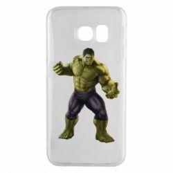 Чохол для Samsung S6 EDGE Incredible Hulk 2