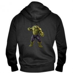 Мужская толстовка на молнии Incredible Hulk 2 - FatLine