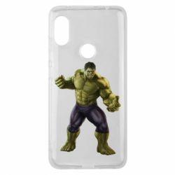 Чохол для Xiaomi Redmi Note Pro 6 Incredible Hulk 2