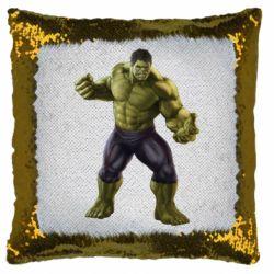 Подушка-хамелеон Incredible Hulk 2