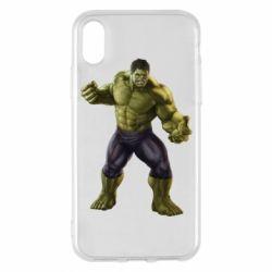 Чохол для iPhone X/Xs Incredible Hulk 2