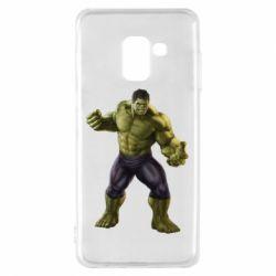 Чохол для Samsung A8 2018 Incredible Hulk 2