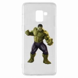 Чохол для Samsung A8+ 2018 Incredible Hulk 2
