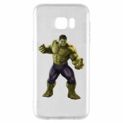 Чохол для Samsung S7 EDGE Incredible Hulk 2