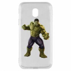 Чохол для Samsung J3 2017 Incredible Hulk 2