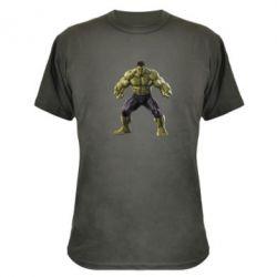 Камуфляжная футболка Incredible Hulk - FatLine