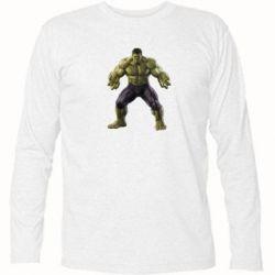 Футболка с длинным рукавом Incredible Hulk - FatLine