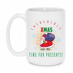 Кружка 420ml Incredible xmas time for presents