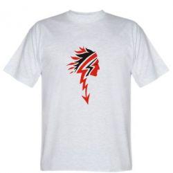 Мужская футболка индеец - FatLine