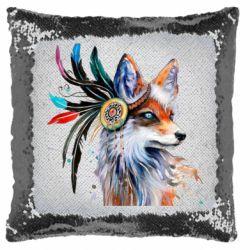 Подушка-хамелеон Indian Fox