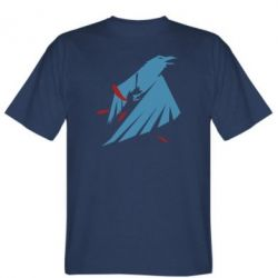 Мужская футболка Infamous: Second Son - Karmic titles two blue
