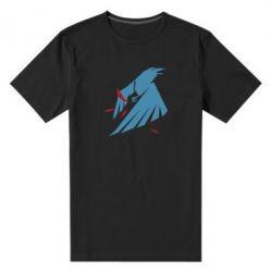 Мужская стрейчевая футболка Infamous: Second Son - Karmic titles two blue