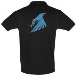 Мужская футболка поло Infamous: Second Son - Karmic titles two blue