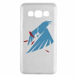 Чехол для Samsung A3 2015 Infamous: Second Son - Karmic titles two blue