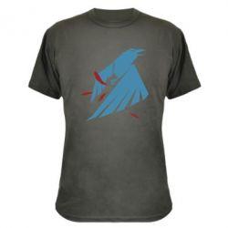 Камуфляжная футболка Infamous: Second Son - Karmic titles two blue