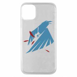 Чехол для iPhone 11 Pro Infamous: Second Son - Karmic titles two blue