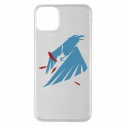 Чехол для iPhone 11 Pro Max Infamous: Second Son - Karmic titles two blue