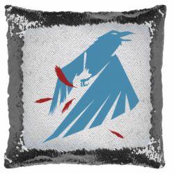 Подушка-хамелеон Infamous: Second Son - Karmic titles two blue
