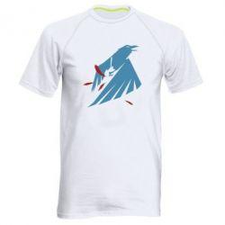Мужская спортивная футболка Infamous: Second Son - Karmic titles two blue