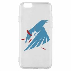 Чехол для iPhone 6/6S Infamous: Second Son - Karmic titles two blue
