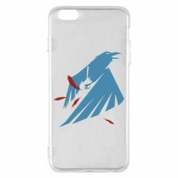 Чехол для iPhone 6 Plus/6S Plus Infamous: Second Son - Karmic titles two blue