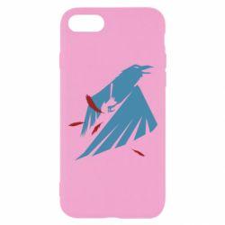 Чехол для iPhone 7 Infamous: Second Son - Karmic titles two blue