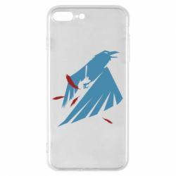 Чехол для iPhone 8 Plus Infamous: Second Son - Karmic titles two blue