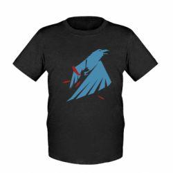 Детская футболка Infamous: Second Son - Karmic titles two blue