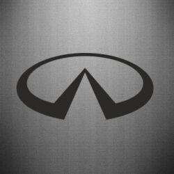 Наклейка Infiniti logo - FatLine