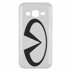Чехол для Samsung J2 2015 Infiniti logo