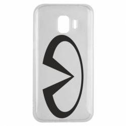 Чехол для Samsung J2 2018 Infiniti logo